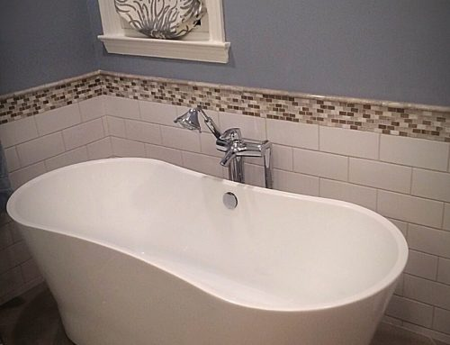 OHI Design Soaking Tub Bathroom by Ray
