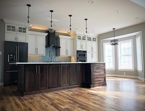 OHI Design Custom Mixed Wood Kitchen by Gary